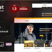 Sanat 1.3.9.1 – Factory Industry WordPress Theme