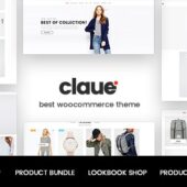 Claue 2.1.0 – Clean, Minimal WooCommerce