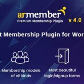 ARMember 4.1.2 – WordPress Membership Plugin