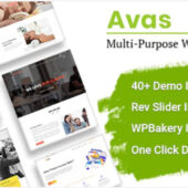 Avas 6.1.20 – Multipurpose Elementor Theme