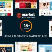 eMarket 3.8.0 – Multi Vendor Marketplace Theme
