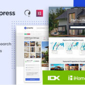 HomePress 1.2.9 – Real Estate WordPress Theme