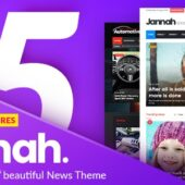 Jannah News 5.0.9 – Newspaper Magazine AMP