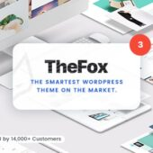 TheFox 3.9.9.9.25 – Multipurpose Theme