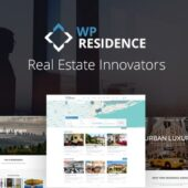Residence 3.7.0 – Real Estate WordPress Theme