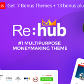 REHub 14.8.1 – Comparison Marketplace Theme