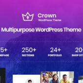 Crown 1.0.1 – Multi Purpose WordPress Theme