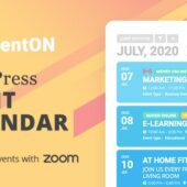EventON 3.0.5 (+Addons) – Event Calendar Plugin
