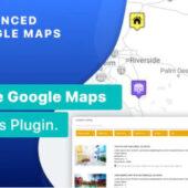 Advanced Google Maps 5.2.7 – Plugin For WordPress
