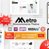 Metro 1.4.9 – Minimal WooCommerce Theme