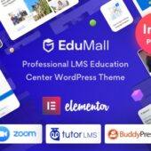 EduMall 2.7.5 – Professional LMS Education Theme