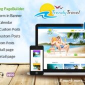 Trendy Travel 5.0 – Tourism Agency Travel Theme