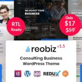 Reobiz 3.8.1 – Consulting Business Theme