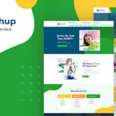 Brushup 1.0 – Cleaning Service Company Theme
